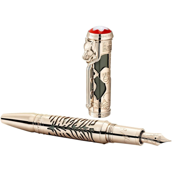 "Montblanc, Füller Writers Edition Homage to Rudyard Kipling Tribute to ""IF"" Limited Edition 1895, Grün/Gold-1"