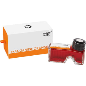 Orange11915 Montblanc, Tintenglas, Manganese Orange, Orange