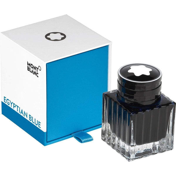 Montblanc, Tintenglas 30 ml, Egyptian Blue, Blau-1