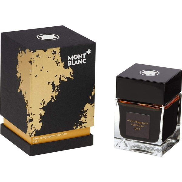 Montblanc, Tintenglas 50 ml, Elixir Calligraphy Yellow Gold, Gelb-1