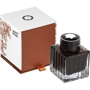 dunkelbraun9246 Montblanc, Tintenglas 50 ml, James Purdey & Sons, Cigar Scent, Brown, Braun