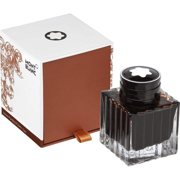 Montblanc, Tintenglas 50 ml, James Purdey & Sons, Cigar Scent, Brown, Braun-1