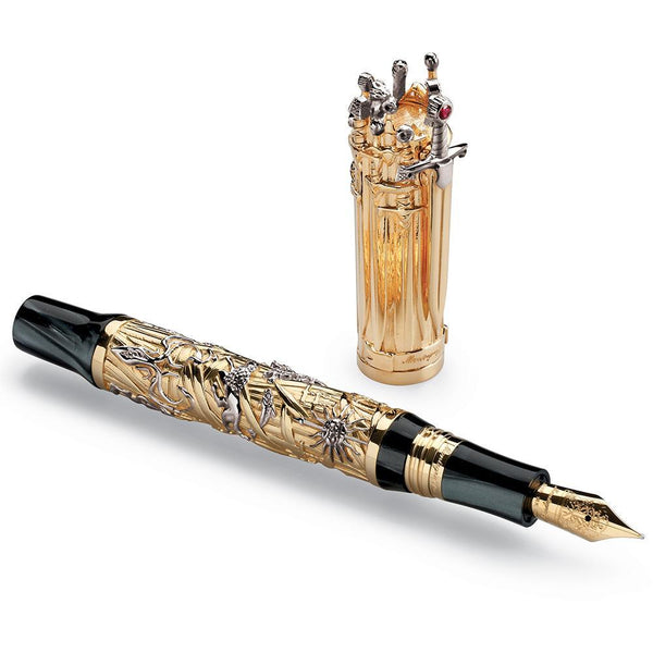 Montegrappa, Füller, Game of Thrones, Limited Edition, Gold-2