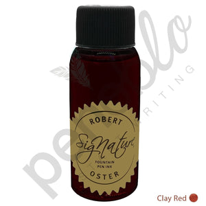 rot17813 Robert Oster, Tintenglas, Signature, Clay Red, 50 ml