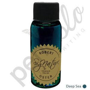 aquamarine17802 Robert Oster, Tintenglas, Signature, Deep Sea, 50 ml