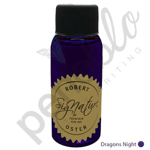 purple17798 Robert Oster, Tintenglas, Signature, Dragon's Night, 50 ml
