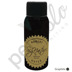 grau17778 Robert Oster, Tintenglas, Signature, Graphite, 50 ml