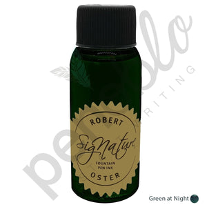 dunkelgrün17776 Robert Oster, Tintenglas, Signature, Green At Night, 50 ml