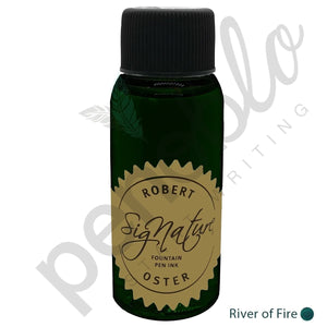dunkelgrün17714 Robert Oster, Tintenglas, Signature, River of Fire, 50 ml