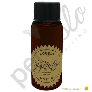 gelb17680 Robert Oster, Tintenglas, Signature, Yellow Sunset, 50 ml