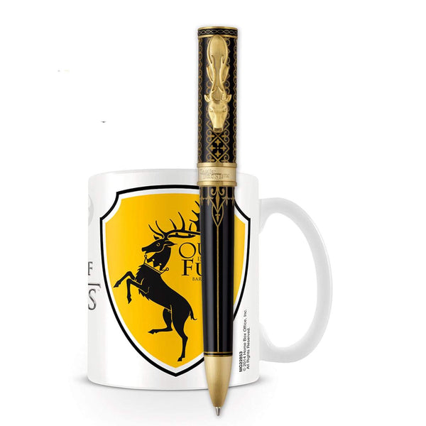 Montegrappa, Game of Thrones Kugelschreiber Baratheon + Gratis GOT Tasse