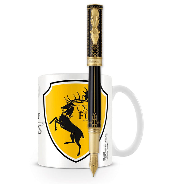 Montegrappa, Game of Thrones Füller Baratheon + Gratis GOT Tasse