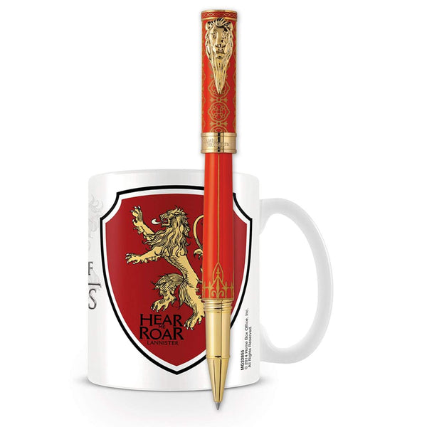 Montegrappa, Tintenroller, Game of Thrones, Lannister, Rot-1