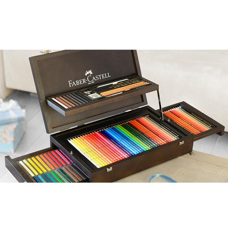 Faber-Castell, Buntstifte, Art & Graphic, Collection Holzkoffer-2