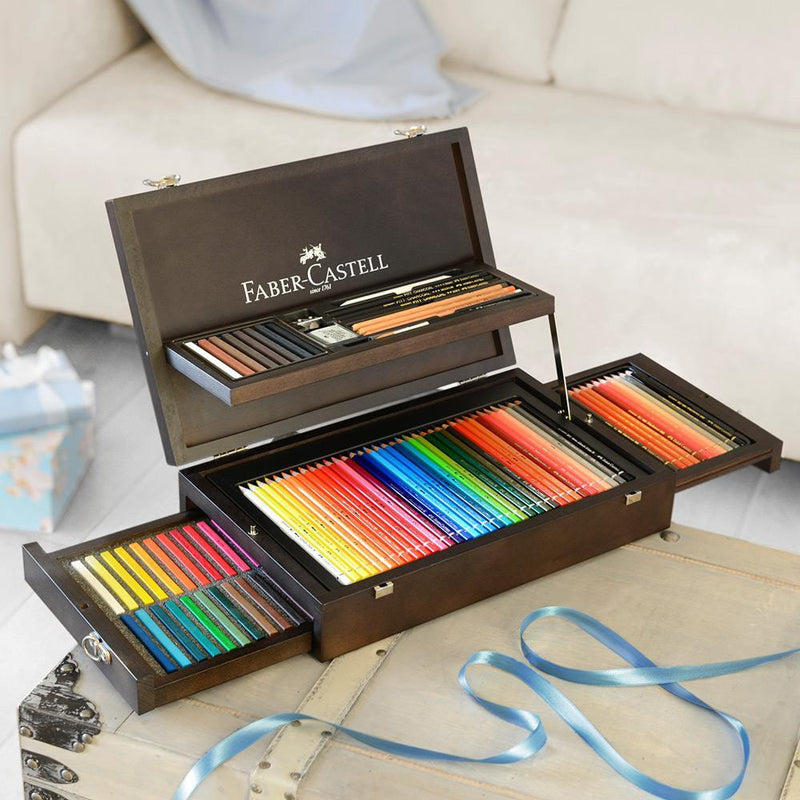 Faber-Castell, Buntstifte, Art & Graphic, Collection Holzkoffer-4