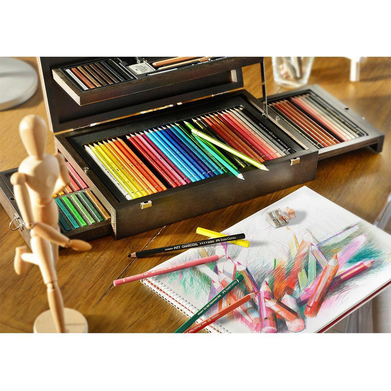 Faber-Castell, Buntstifte, Art & Graphic, Collection Holzkoffer-5