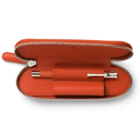 Graf von Faber-Castell, Etui 2er Epsom, Burned Orange - 3