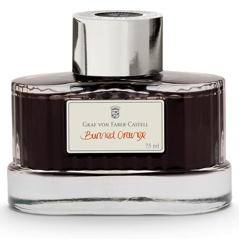 Graf von Faber-Castell, Tintenglas, Burned Orange 75ml