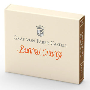 orange6160 Graf von Faber-Castell, Tintenpatronen, 6x Burned Orange