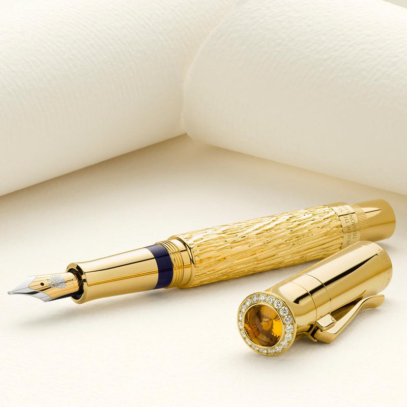 Graf von Faber-Castell, Füller, Pen of the Year 2012, Diamond Edition, Gold, Limited Nr. 01/10-4