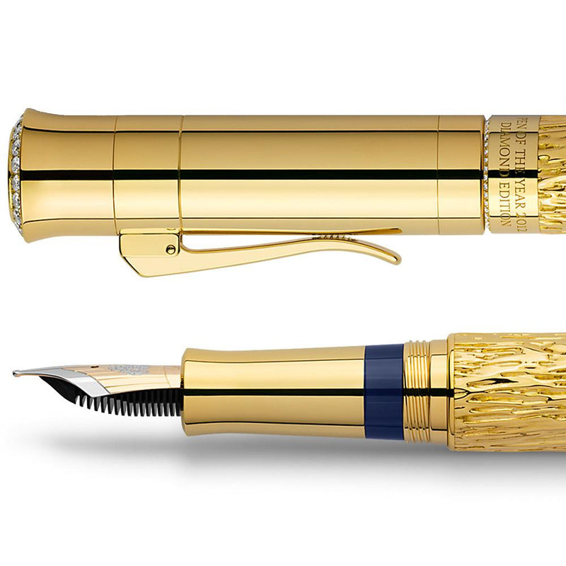Graf von Faber-Castell, Füller, Pen of the Year 2012, Diamond Edition, Gold, Limited Nr. 01/10-5