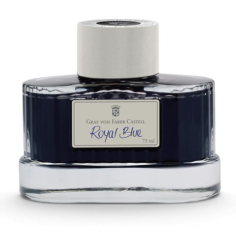 Graf von Faber-Castell, Tintenglas, 75ml, Royal Blue - 1