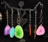 Tagua Nut Earrings - jody dove style  - 1