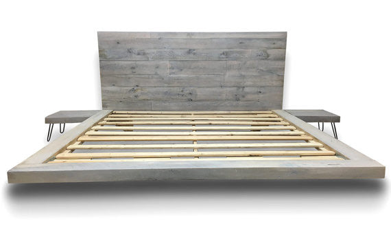 Reclaimed Barn Wood Beds by Sustain Furniture