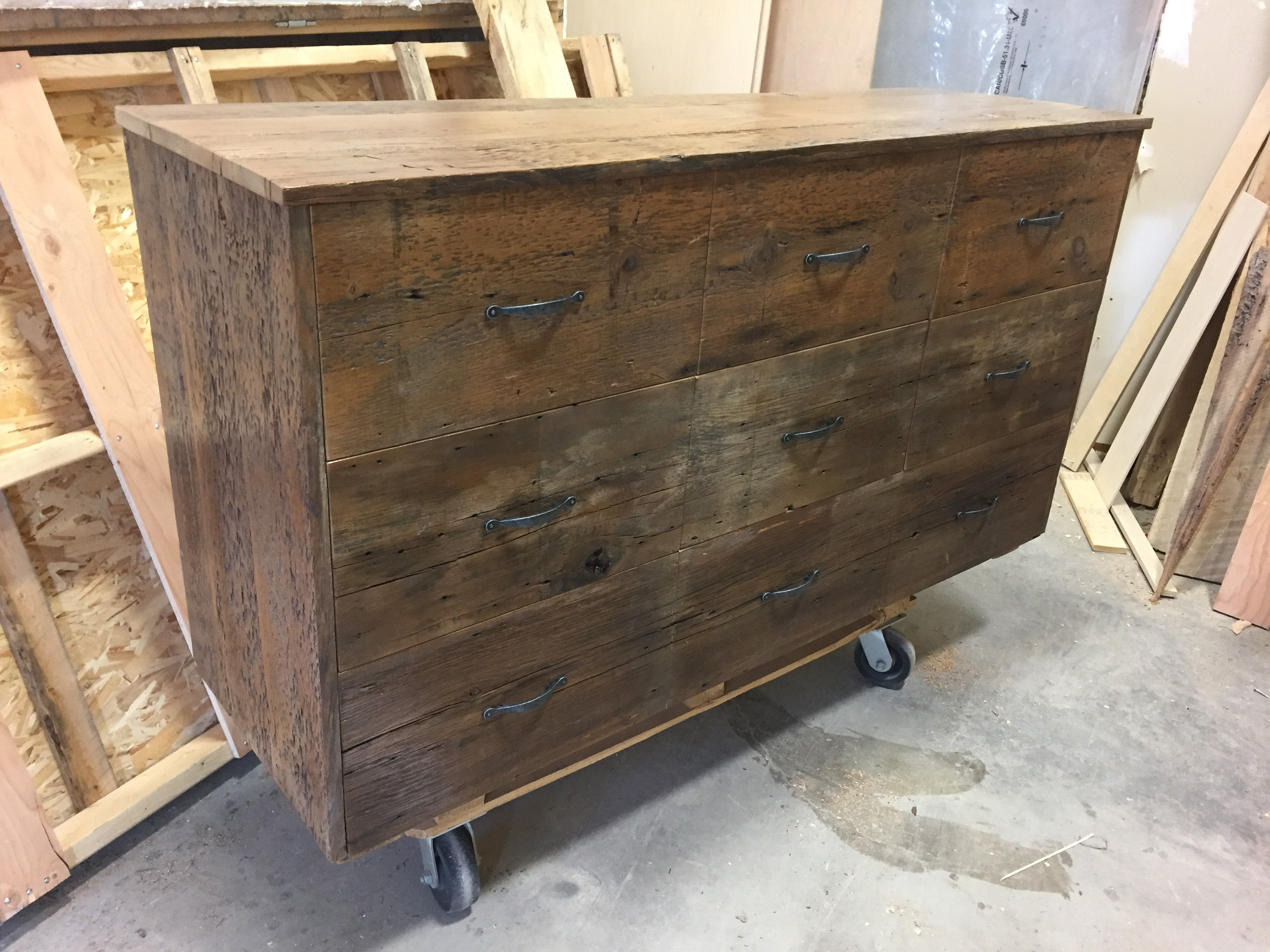 Reclaimed Barn Board Dressers And Nightstands Sustain Furniture Co