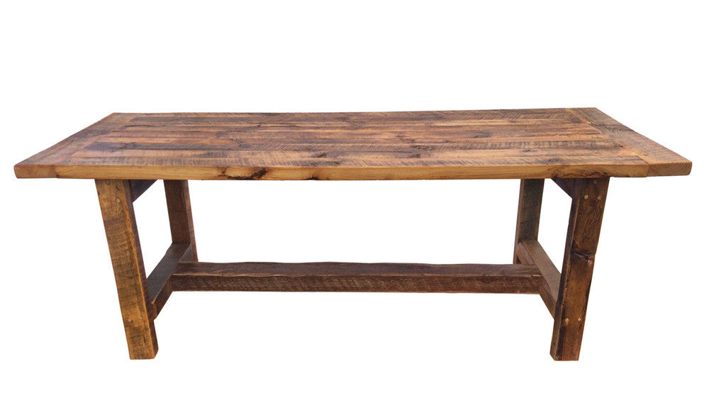 Traditional Harvest Table Sustain Furniture Co