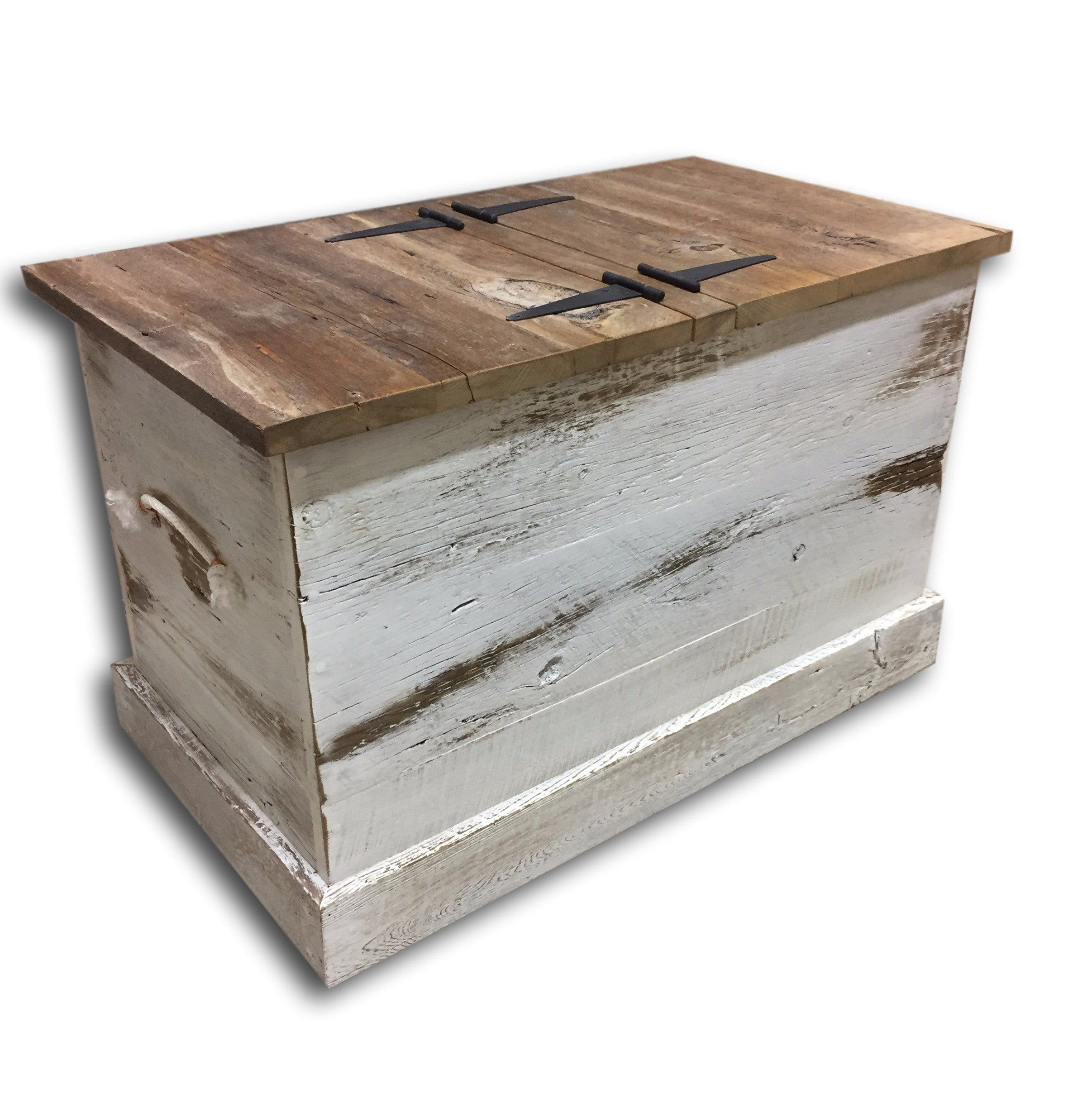 shabby chic blanket box hope chest reclaimed wood storage box rh sustainfurniture com
