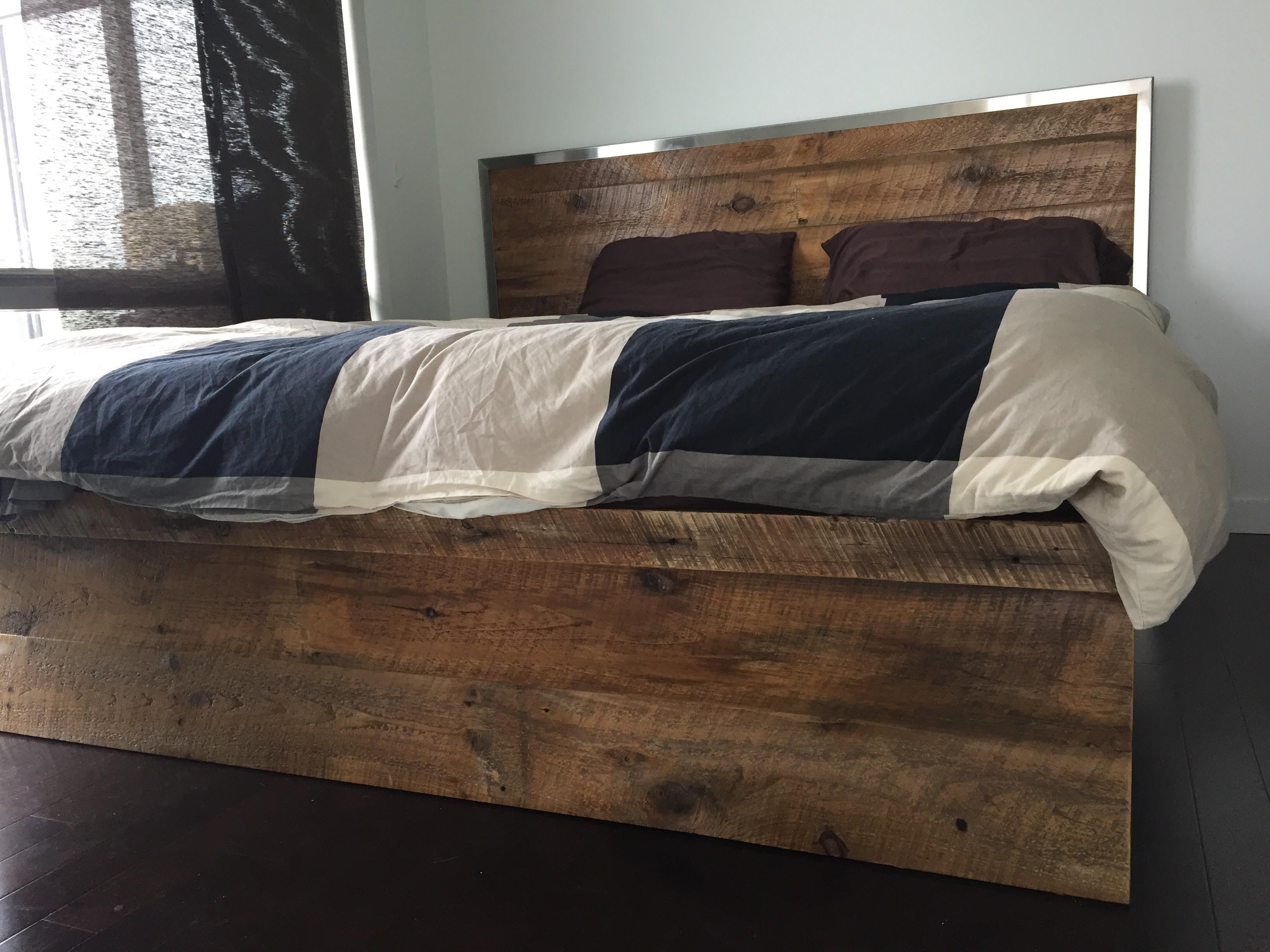 ... Reclaimed wood lift storage bed handcrafted in Canada ... & Sustain Furniture Co.