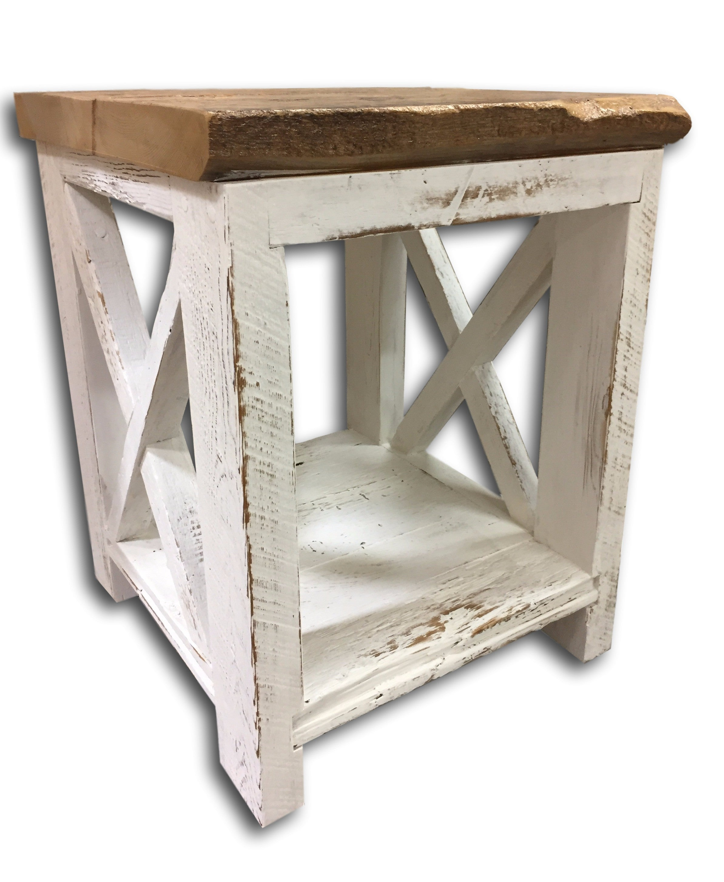 Shabby Chic End Table, Night Stand, Side Table