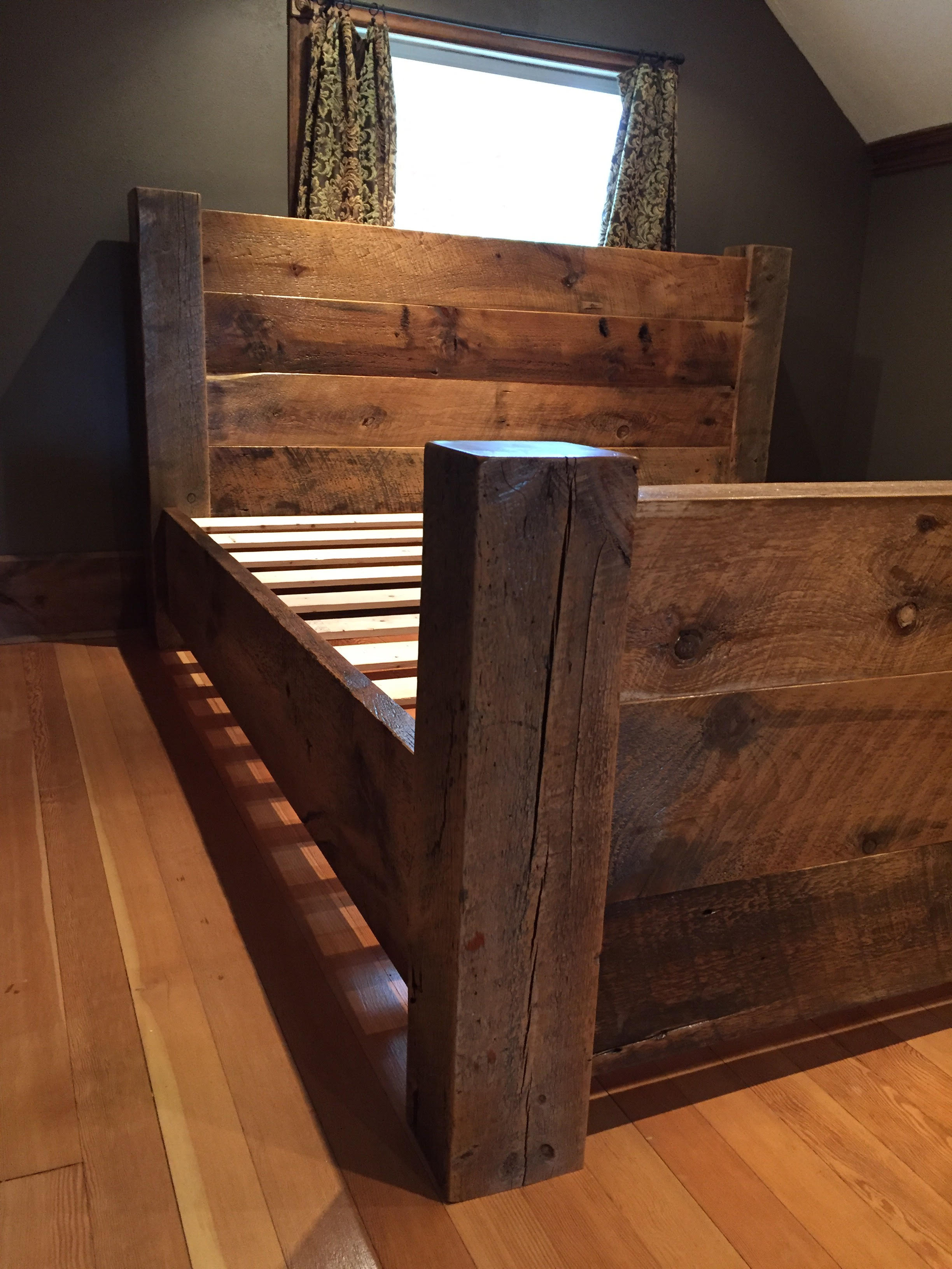 Reclaimed Barn Wood Beds By Sustain Furniture Sustain Furniture Co