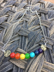 It's going to be fine Chakras rainbow Necklace