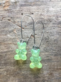 Teddy gummy bear earrings - Petit Luxe Boutique