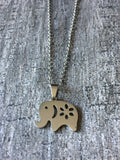Collier elephant - Petit Luxe Boutique