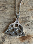 Stainless steel symbol charm necklace