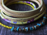 Leather wrap bracelet - Petit Luxe Shop