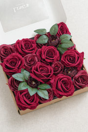Silk Rose with Stem - 4 Styles