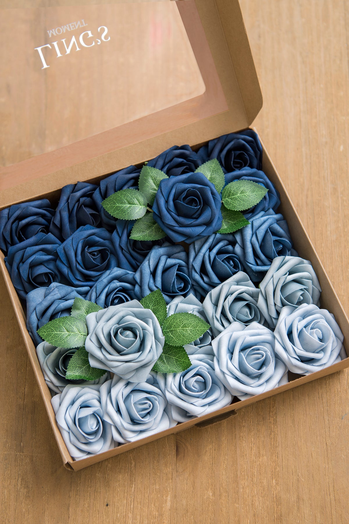 "3"" Foam Rose with Stem - 39 Colors"