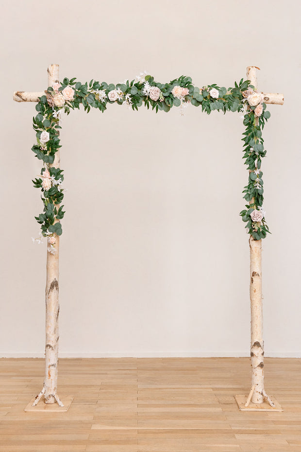 Arch FLower Garlands 6.5ft (Set of 2) - Blush/Dusty Rose | Clearance Sale