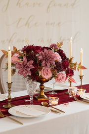 Flowers Box Sets for DIY - Marsala & Blush Theme