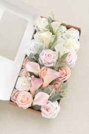 Flowers Box Set For DIY - French Pink Theme