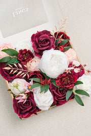 Natural Touch Peony Flowers Box Set - 13 Styles