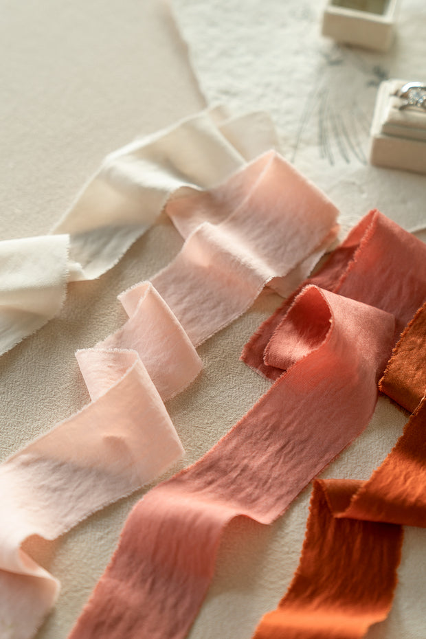 "Chiffon/Sea-Island Ribbons 1.5""w x 1.5 Yards - 7 Colors"