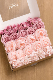 Flowers Box Sets for DIY - Blush & Pinks Theme