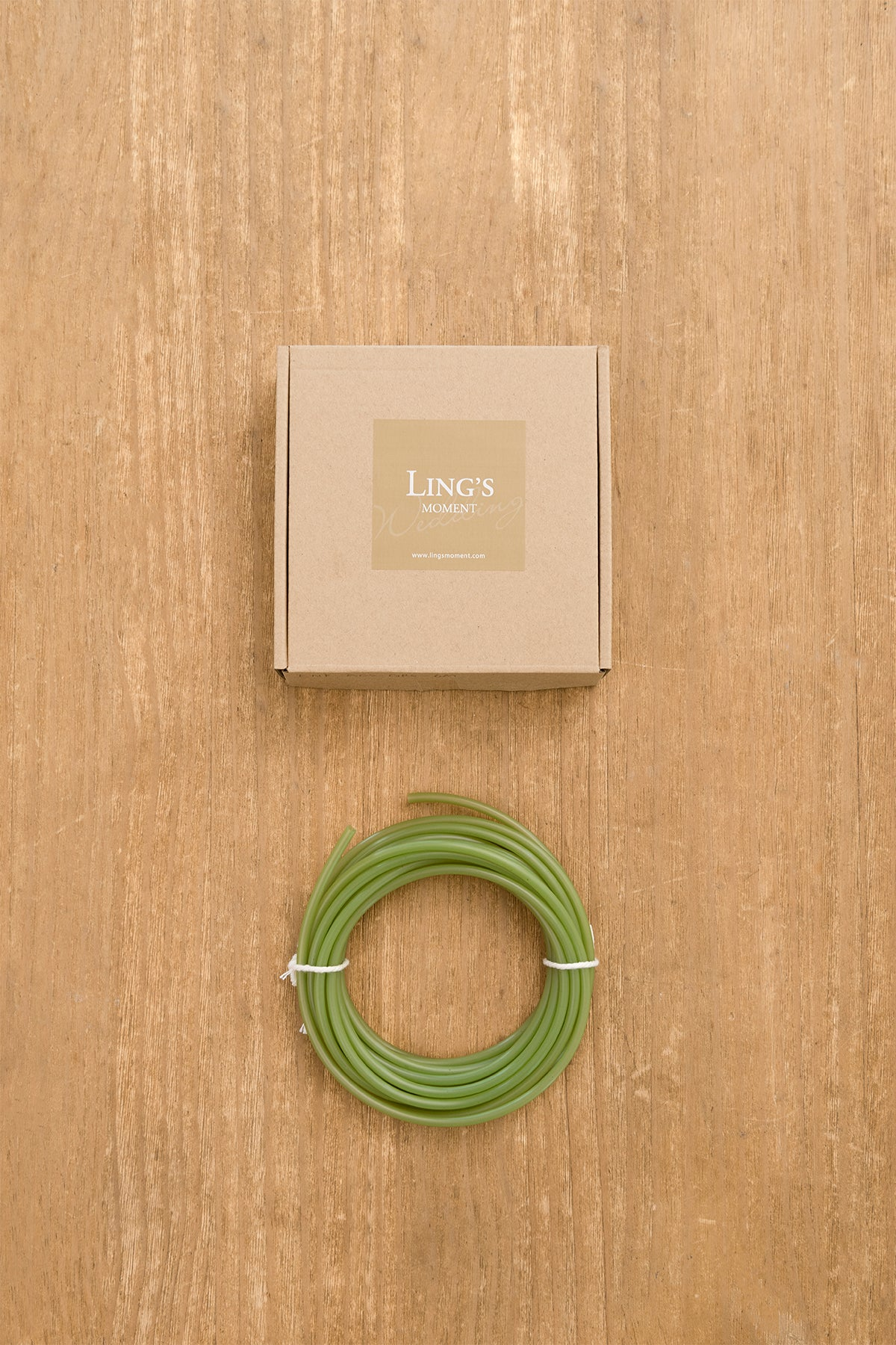 DIY Kits - Green Tubing Roll for Bundling Stems