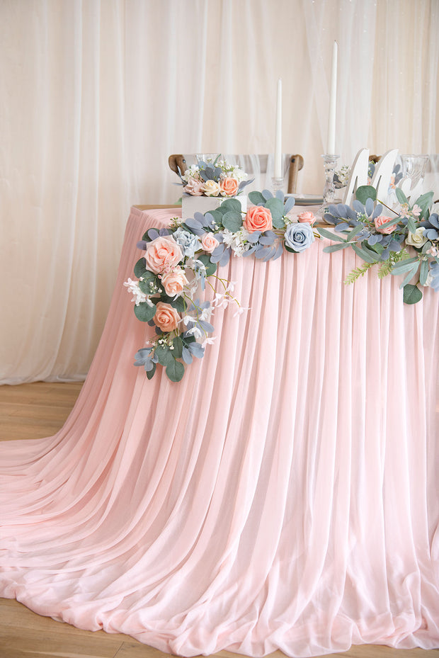 Extra Long Pooling Table Skirt - 14 Styles