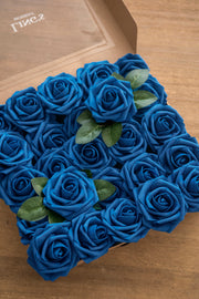 "3"" Foam Rose with Stem - 15 Colors"